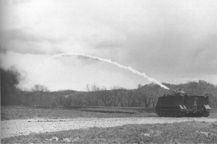 M132 Flame Thrower