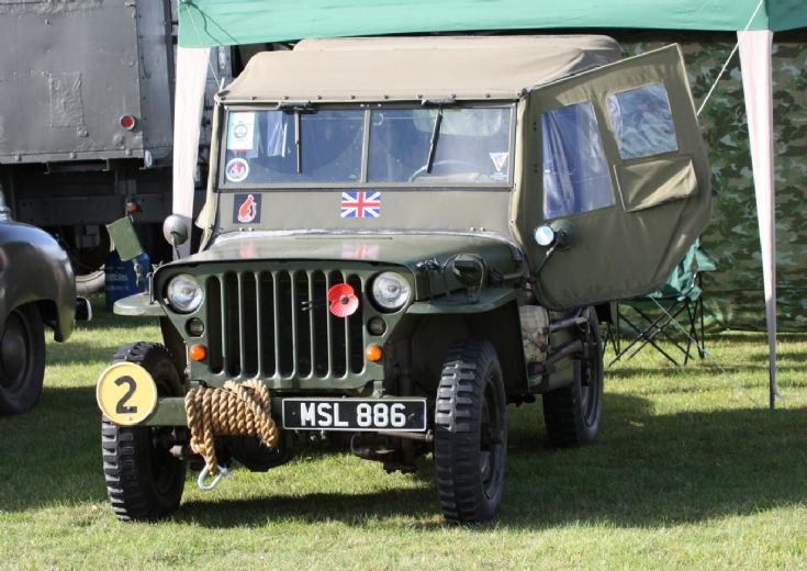 Willy's at Battle of Britain at Kemble 2011