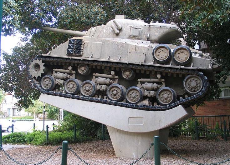 Sherman M-50 tank