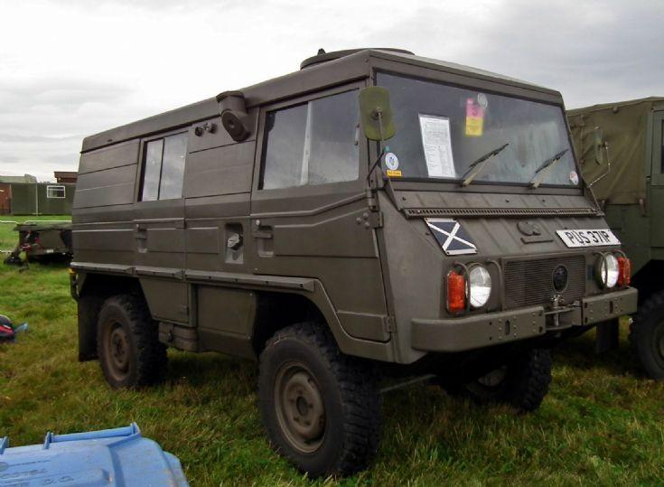 Pinzgauer all terrain vehicle at Air Show