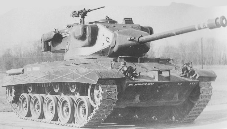 T41 76mm Gun Tank (1951)