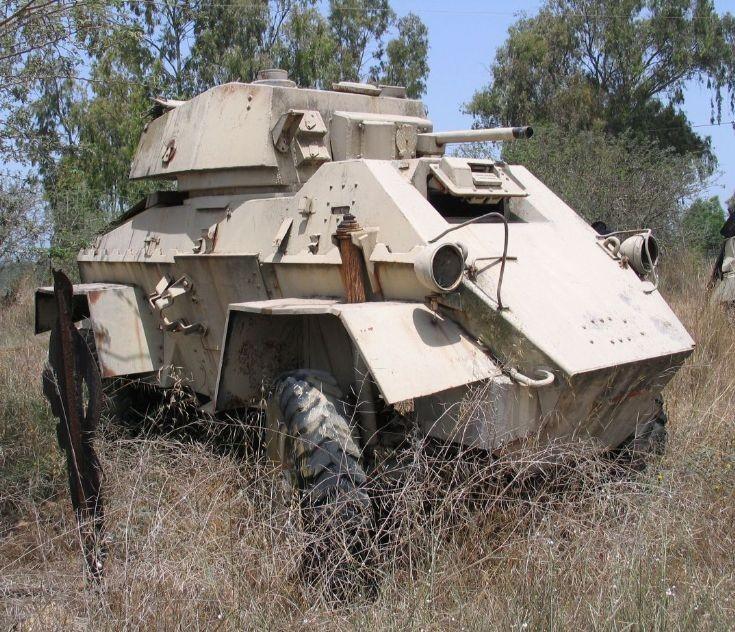 Humber Mk IV in Israel