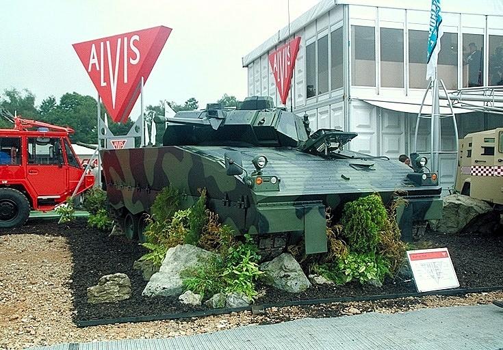 Warrior 2000 at exhibition