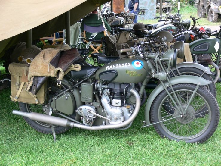 RAF Royal Enfield
