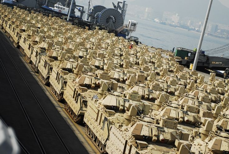 M2A3 Bradley Fighting Vehicles