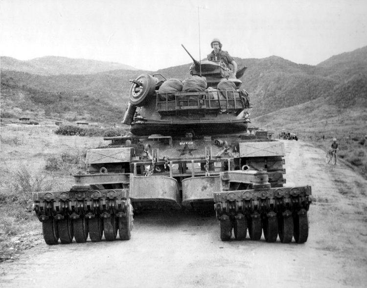 M48A3 with Mine Roller