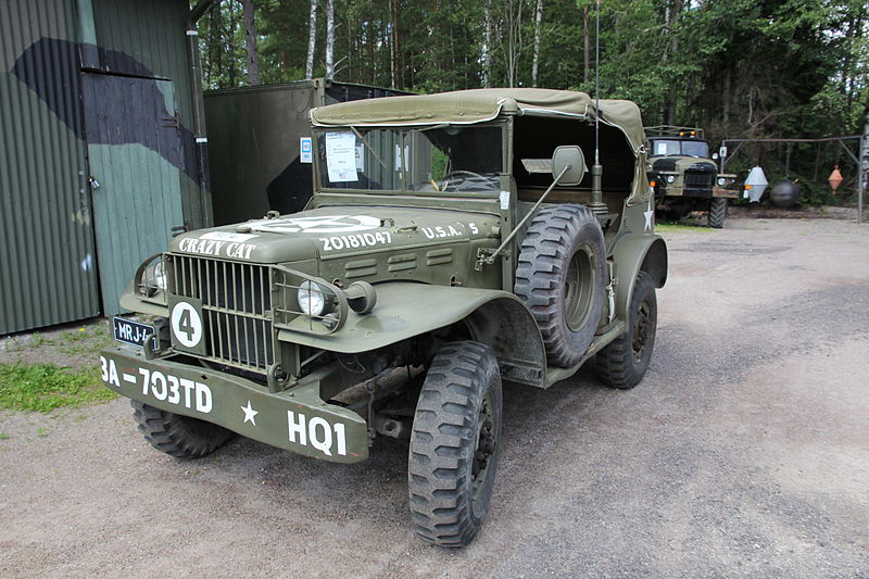 WWII Dodge WC-57 Command car