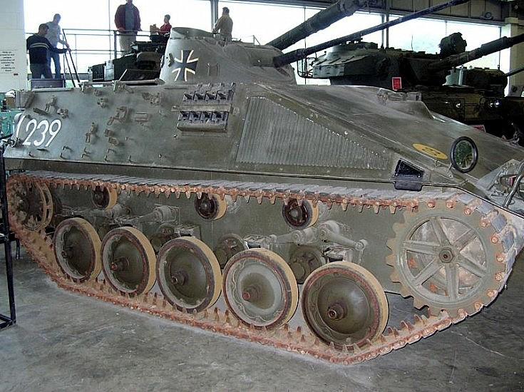 German Recon vehicle