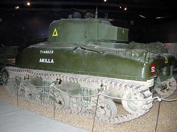 Akilla Canadian built tank
