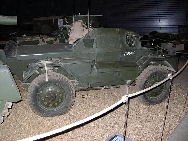 Daimler Dingo at Imperial War Museum