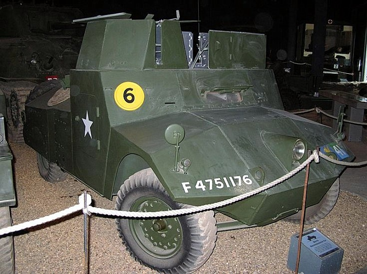 Morris Reconnaissance Car at Duxford