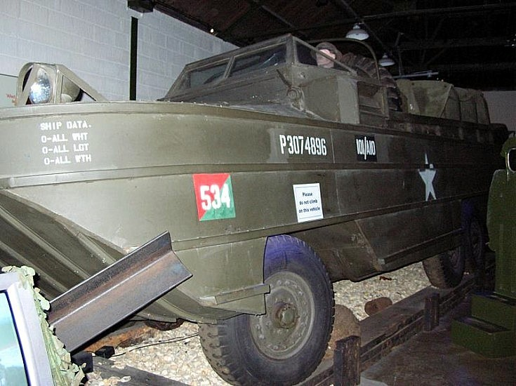 1942 DUKW at Portsmouth