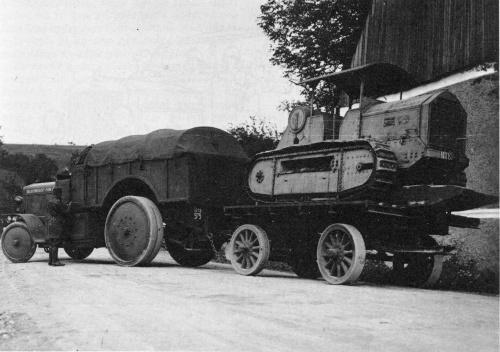 Artillery tractor Škoda Z