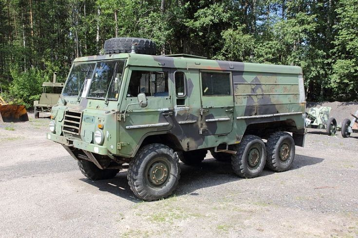 Military Vehicle Photos - Volvo C304