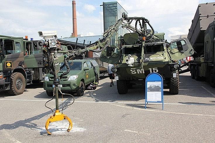 Erikoissammutusyksikkö SM 15 in Finland