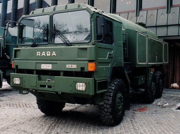 Rába H25 Hungarian military vehicle