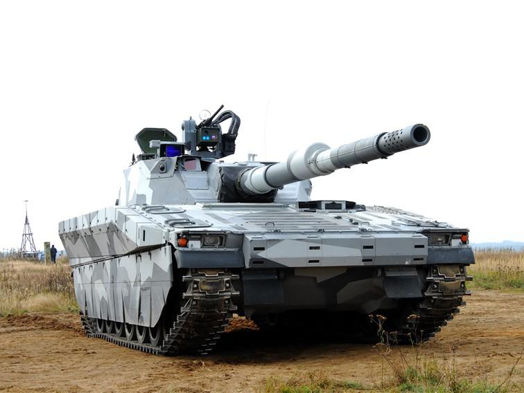 Hägglunds CV90120 Tank