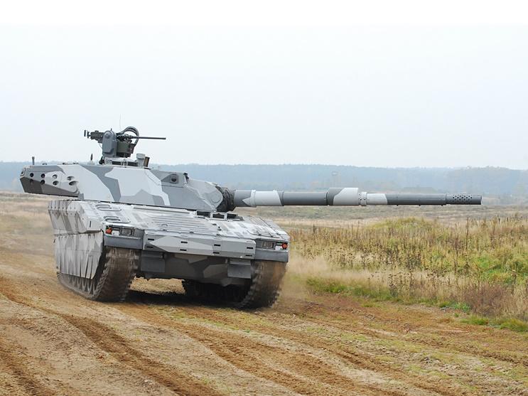 CV90120 Tank