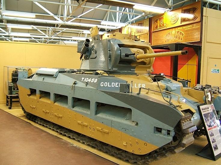Matilda II T.10459 Golden Miller