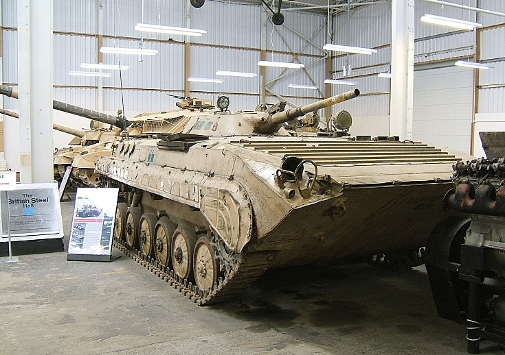 GAZ BMP-2 at Bovington