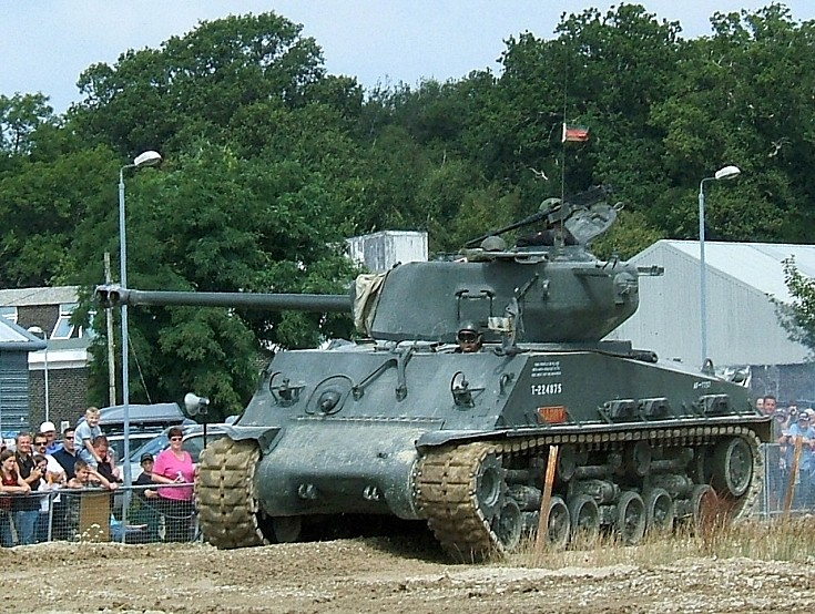 Sherman at Tankfest