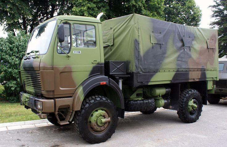 FAP 1118 military truck