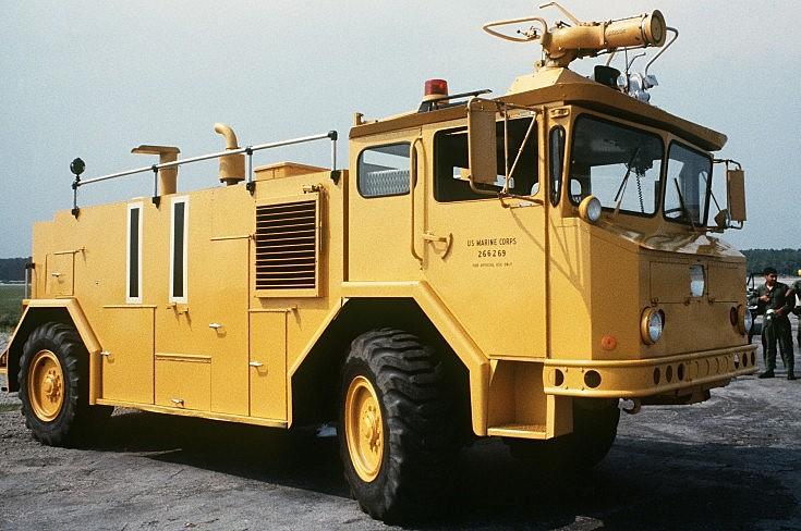 Oshkosh fire truck