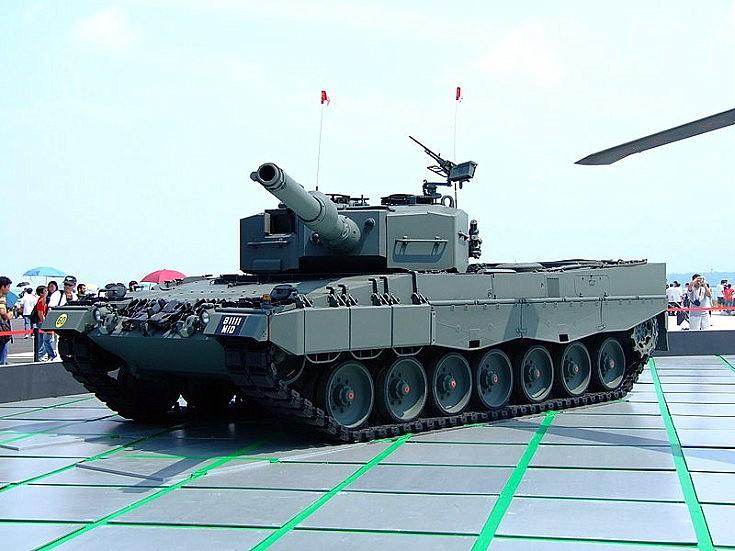 Leopard 2A4 main battle tank