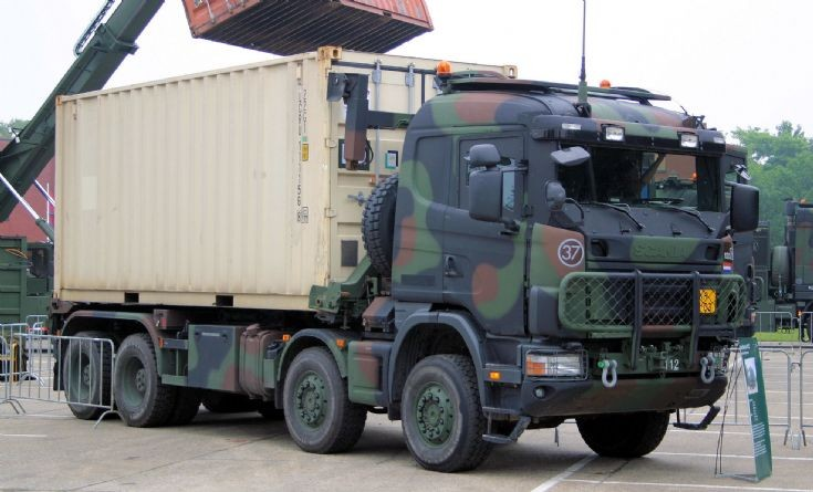 Armored Vehicles For Sale >> Military Vehicle Photos - Scania truck Dutch army armoured