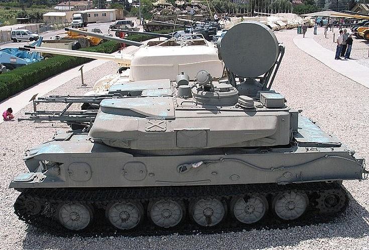 ZSU-23-4 Shilka anti aircraft gun