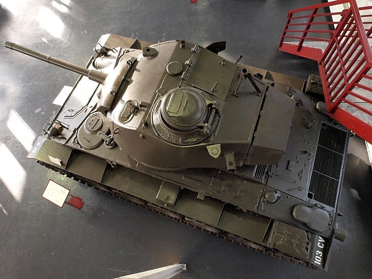 Chaffee M24 in Museum