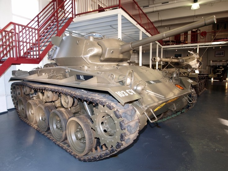 Chaffee M24  of the 103CV