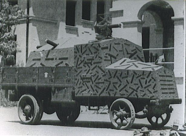 Chinese Armored-truck