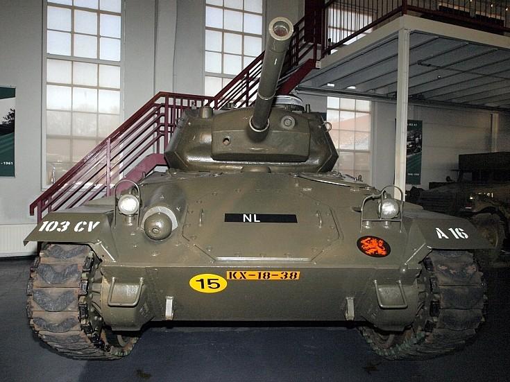 Chaffee M24 tank