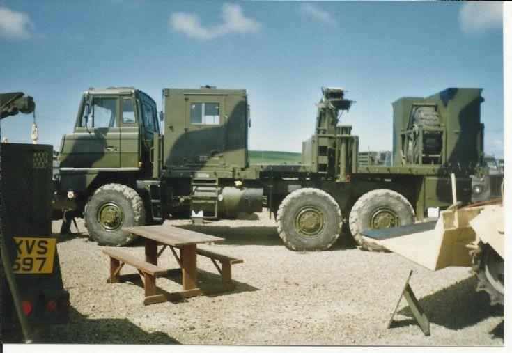 Foden Artillery Tractor (left side)