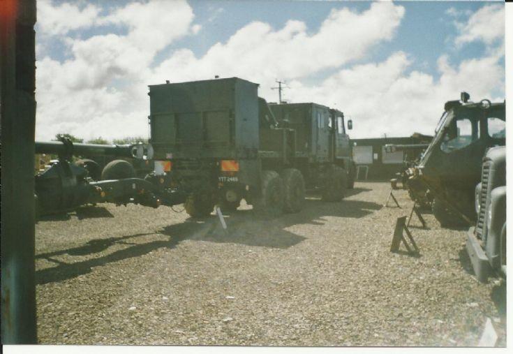 Foden Artillery Tractor (rear).