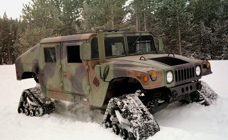 Tracked Humvee
