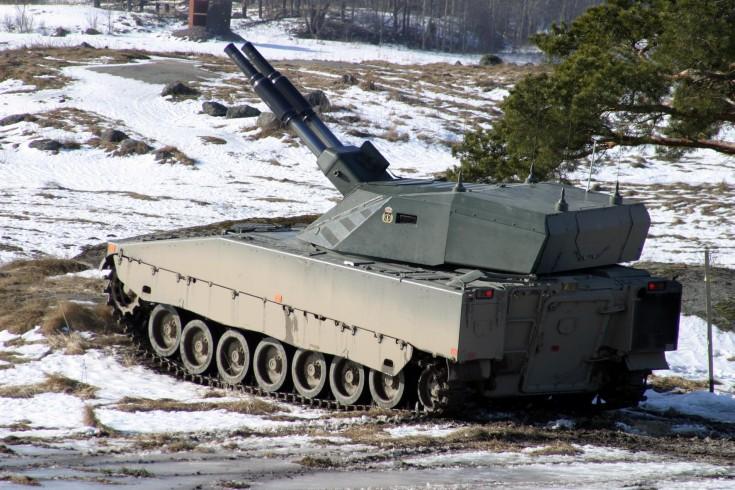 CV90 Amos Advanced Mortar