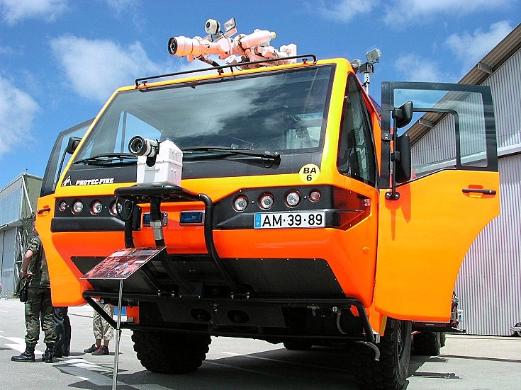 Protec Fire crash-tender