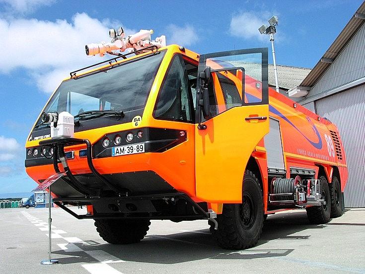 6x6 Protec Fire crash-tender