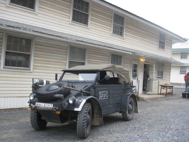 Wehrmact vehicle-Battle of the Bulge reeactment