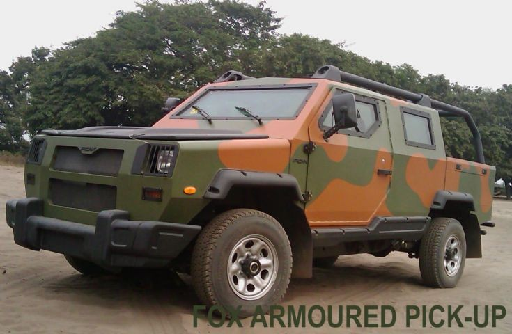 Fox Light Commercial Armoured Pick-Up