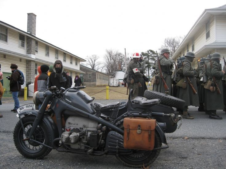 Wehrmacht motorcycle