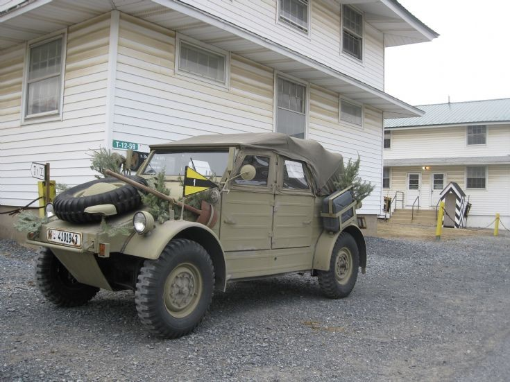 Wehrmacht vehicle at re-enactment
