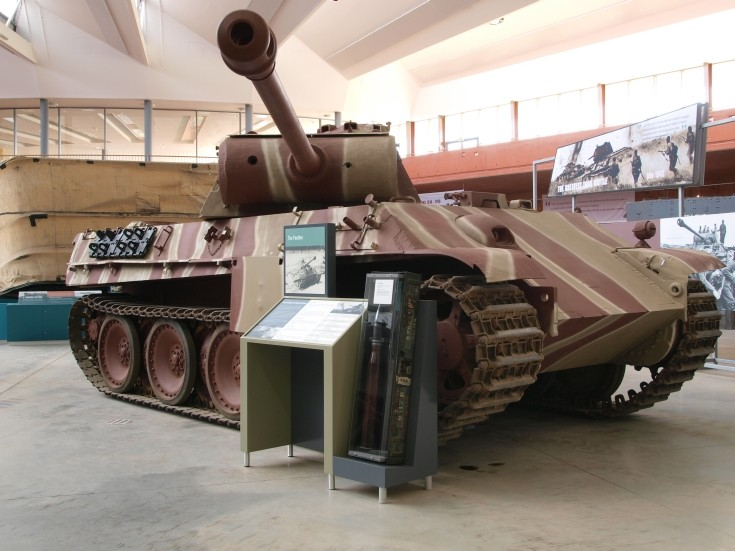 Panther - Model G PzKfw V in England