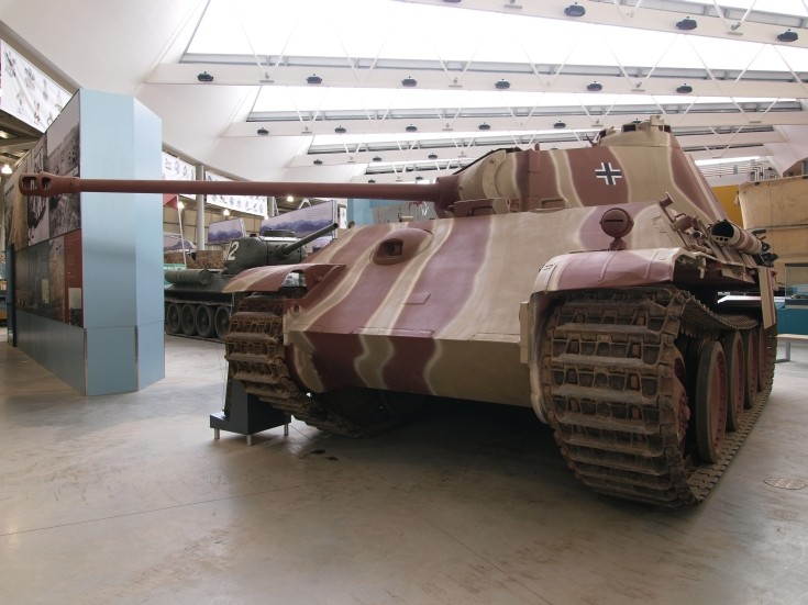 Panther - Model G PzKfw V at Tank Museum