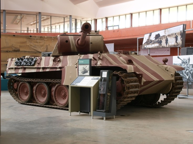 Panther - Model G PzKfw V at Bovington