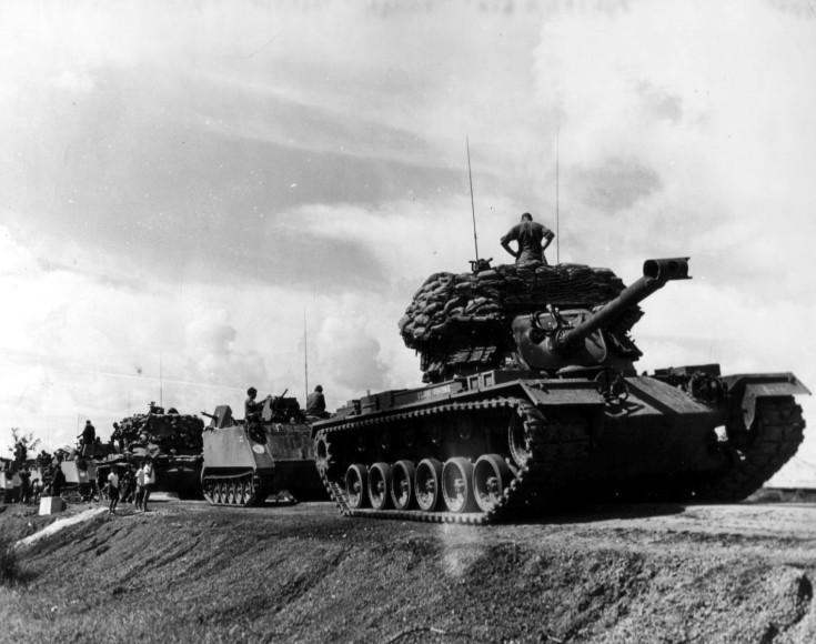 ACAV and M48 Convoy Vietnam War