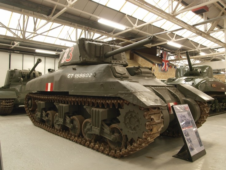 Cruiser Tank RAM MKII at Bovington