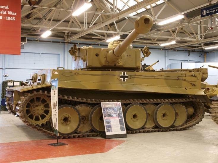 Tiger 131 tank
